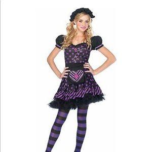 Raggedy Ann Rag Doll Halloween Costume XS Juniors